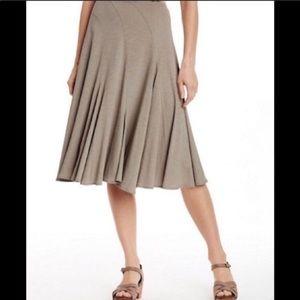 Garnet Hill Midi Skirt